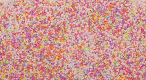 FLUORESCENT MICRO GRAVEL 2KG PRE -  PACKED BAGS