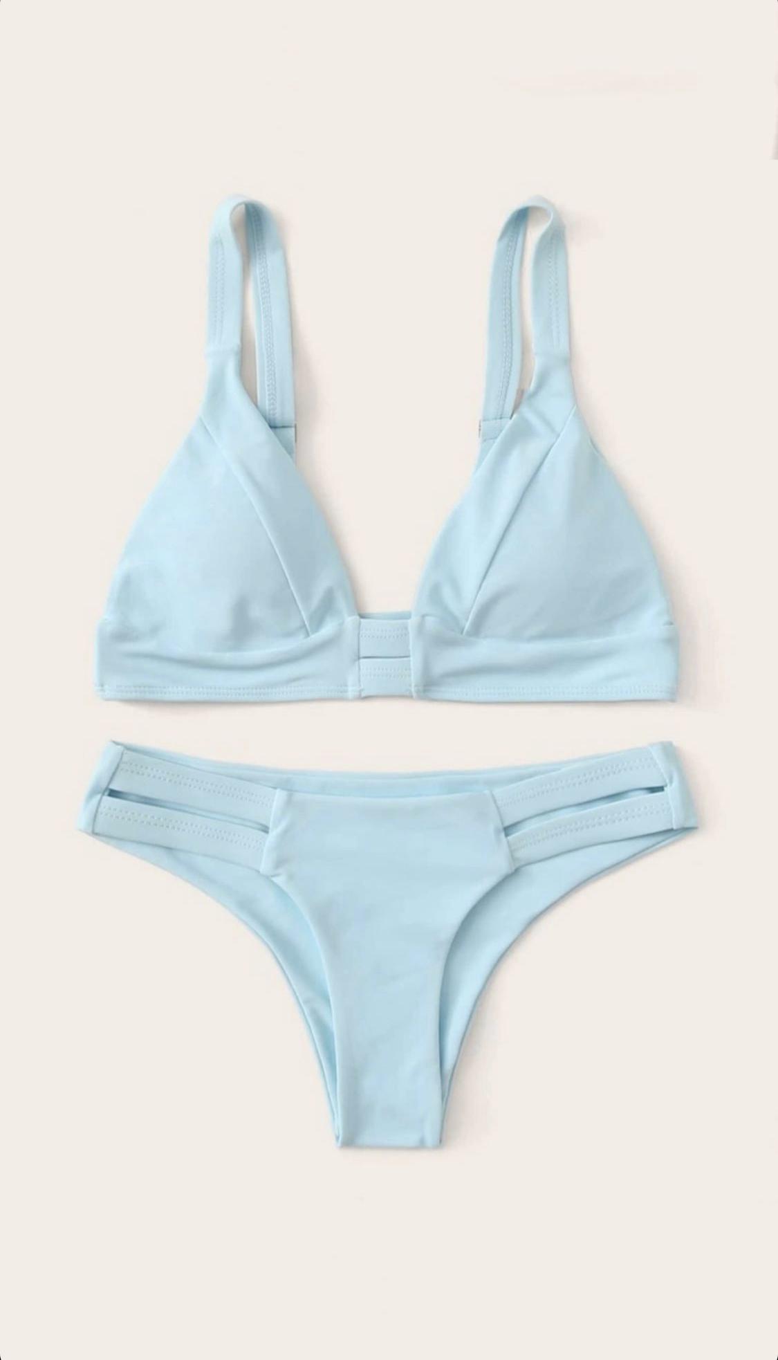 Bikini azul cielo