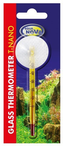 nano short Glass thermometer