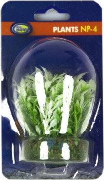 4cm plastic plant - grass like aquatic Deco