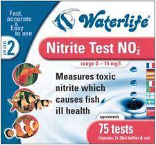 WATER LIFE NITRITE TEST