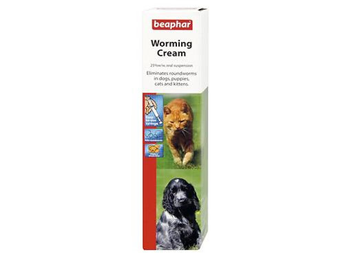 *NI VM BEAPHAR WORMING CREAM 18GM (17236