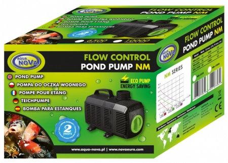 Super Eco pond pump with flow regulation