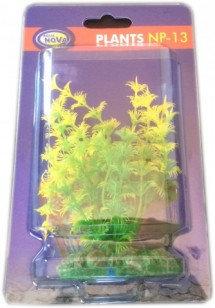 13cm plastic plant yellow type