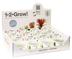 1-2-GROW tubs x 5 assorted