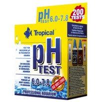 TEST pH 6.0-7.8 aquarium droplet test.