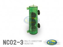 Multi-Direction reactor Diffusion of CO2 L