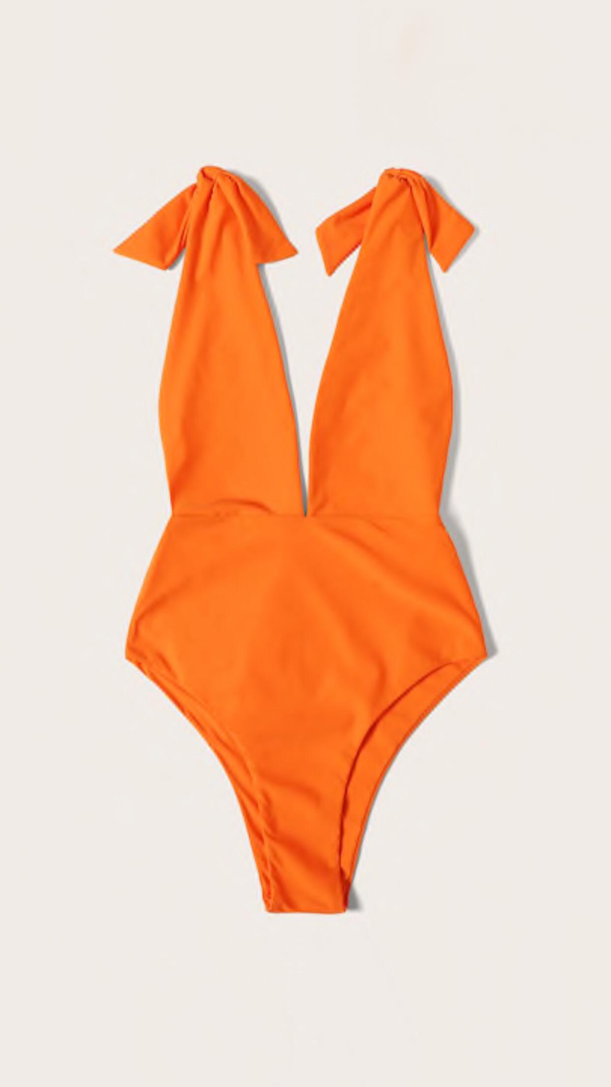 Bañador naranja