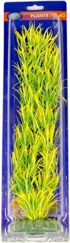 30cm plastic plant longyellow leaf type