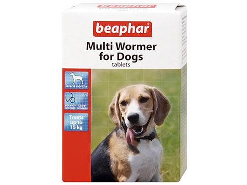 *NI VM BEAPHAR MULTIWORMER DOG 12`S
