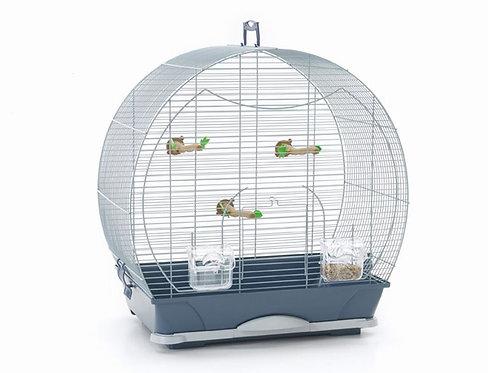 EVELYNE 40 NAVY BLUE BIRD CAGE 52X33X55