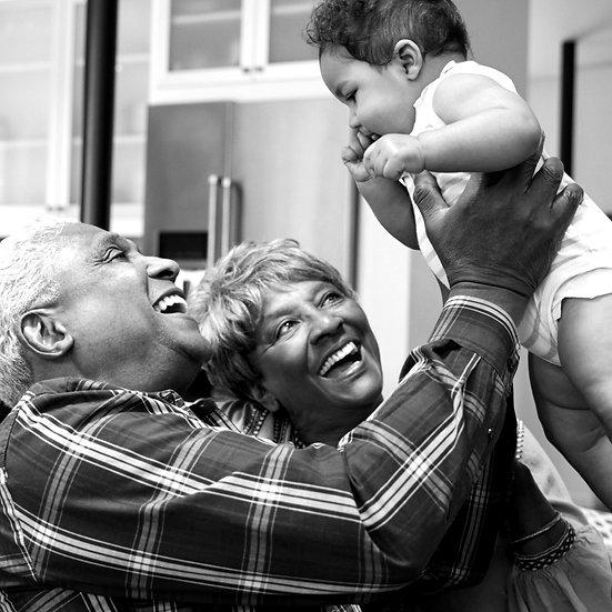 Grandparents and Newborn, Gift, Hamper, Present, Baby, Baby Shower, Milestones