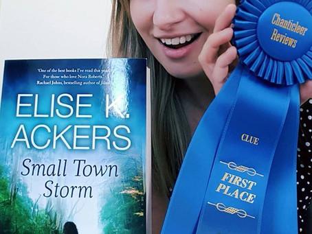 Small Town Storm, CLUE Award Winner!