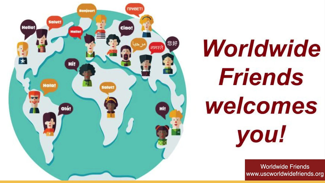 Worldwide Friends Welcome Video