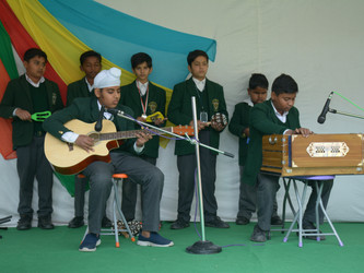 Inter-house Group Song Competition