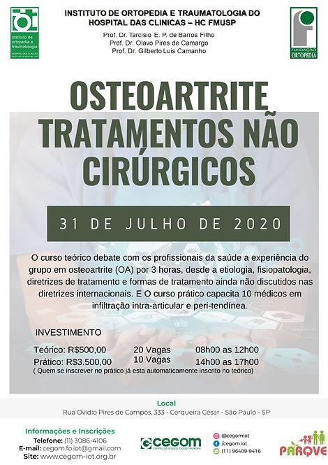 31 de Julho -Osteoartrite tratamentos não cirúrgicos