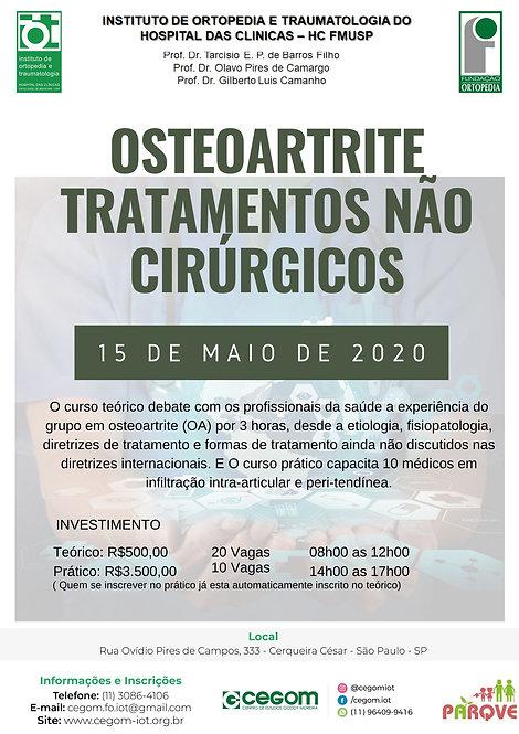 15 de maio - Osteoartrite tratamentos não cirúrgicos