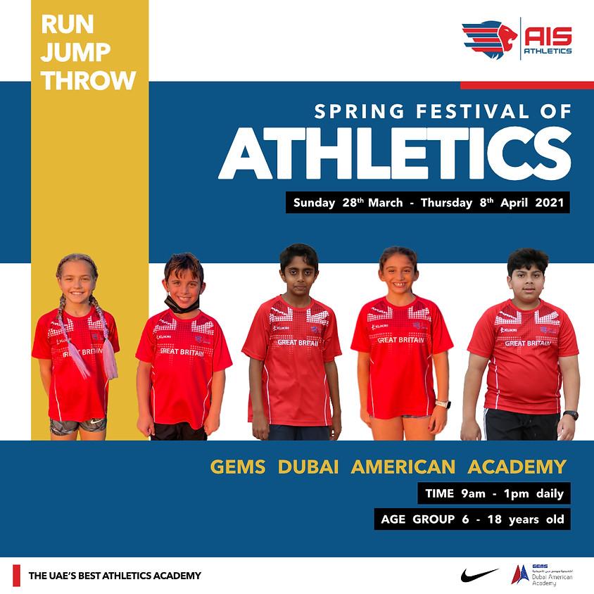 Spring Festival of Athletics 2021