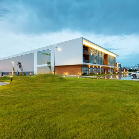 DELTA MACHINERY & SPEKTRA JEOTEK HEADQUARTERS & FACTORY BUILDING 2013
