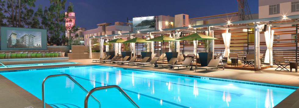 The_Camden_Hollywood_Apartments_Pool_Nig