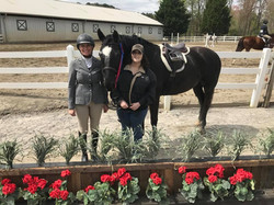 Krissy, Radetzky, and owner Heather