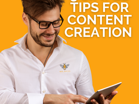 """""""Tips for Content Creation"""""""