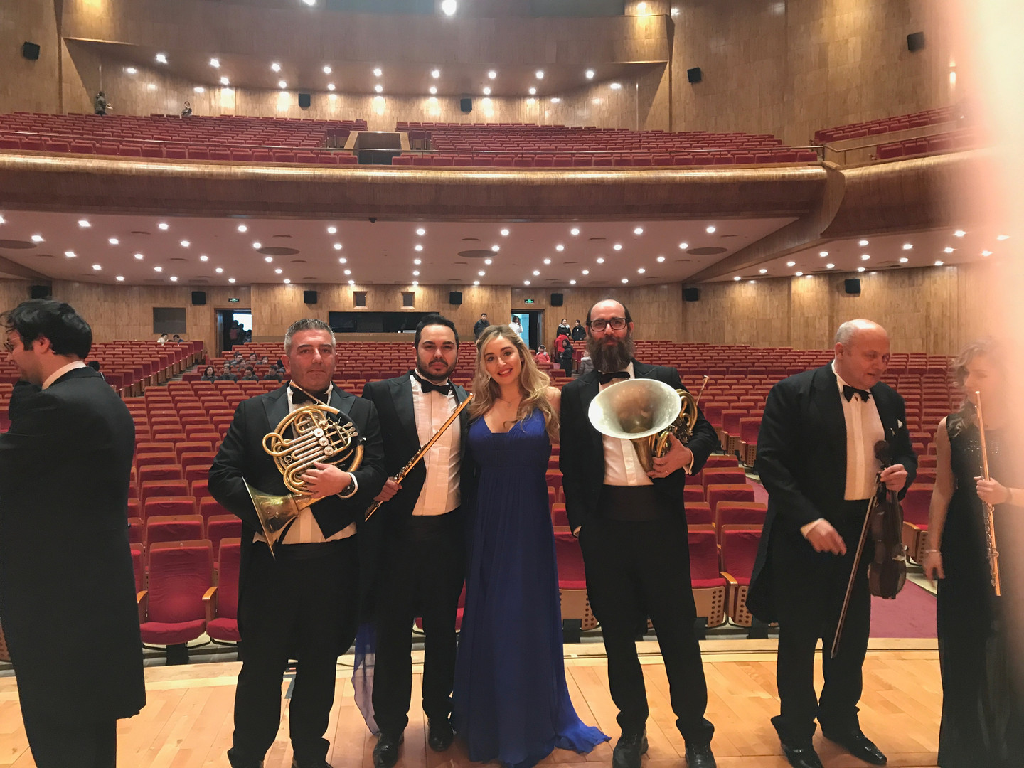 After-concert with wind section 2019