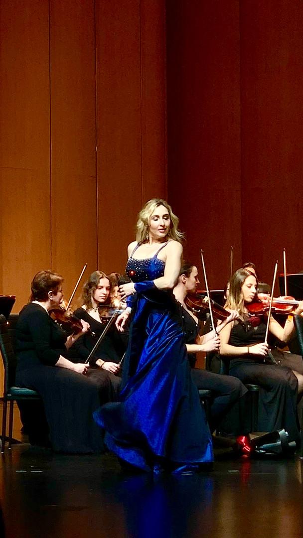 Violetta, La Traviata Concert in China