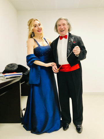 Concert in China with Maestro 2020