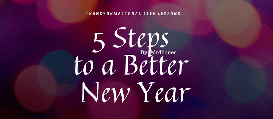 5 Steps to a Better New Year