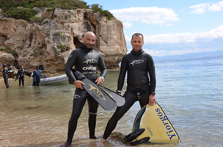 NoLimits Freediving Center team