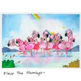 Fleur the Flamingo