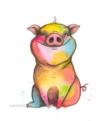 Christmas the rainbow pig.jpg