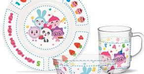 Вышла новая линейка посуды от PrioritY и бренда «Малышарики»