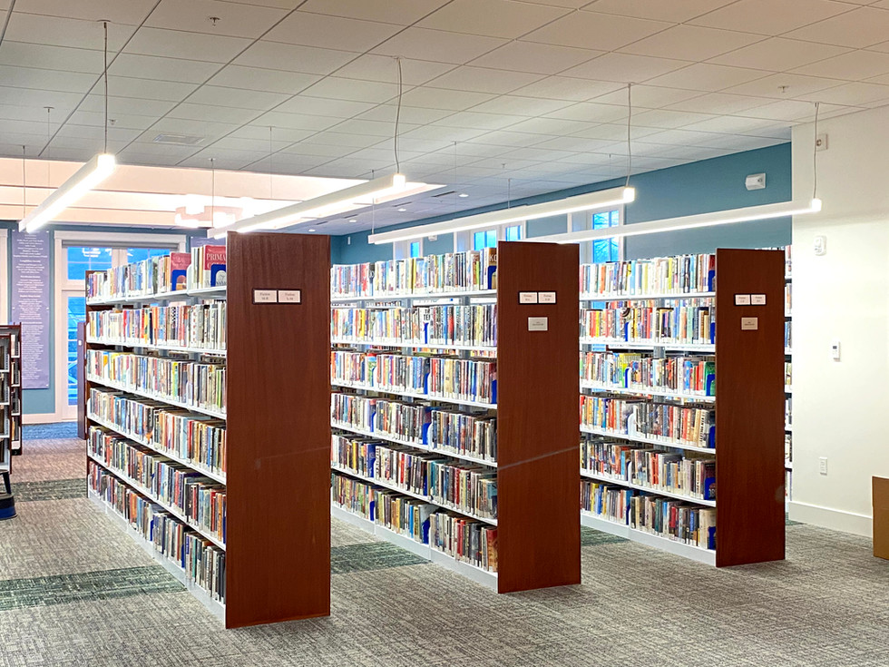 Rockport Library - Stack Area