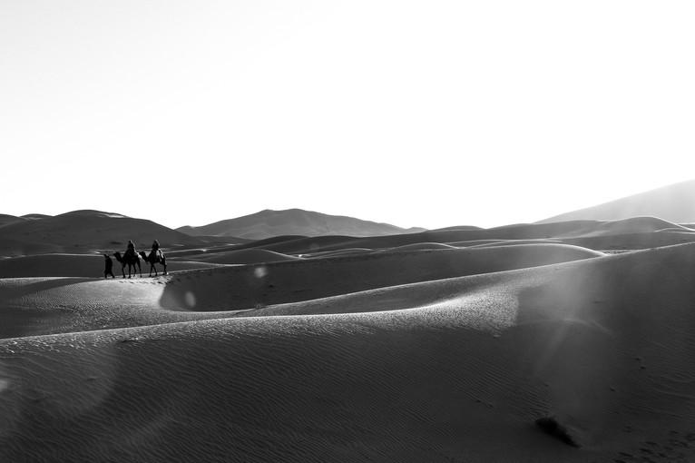 Erg Chebbi, Sahara Desert. Merzouga, Morocco.