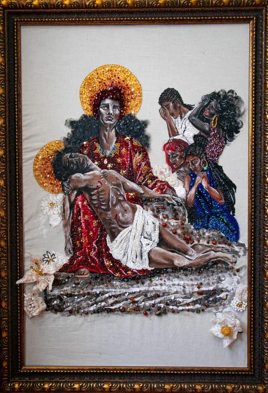 La Pietà (with frame)