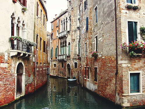 "8""x 10"" Matte Photographic Print - Venice, Italy."