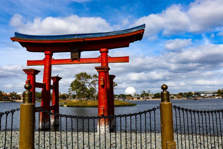 Japan Pavilion, Disney's Epcot Center. Orlando, Florida.