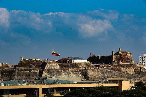 "8""x 10"" Pearl Photographic Print - Cartagena Landscape"