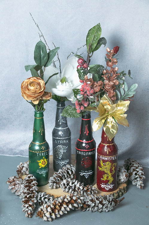 Game of Thrones Decorative Bottle Set