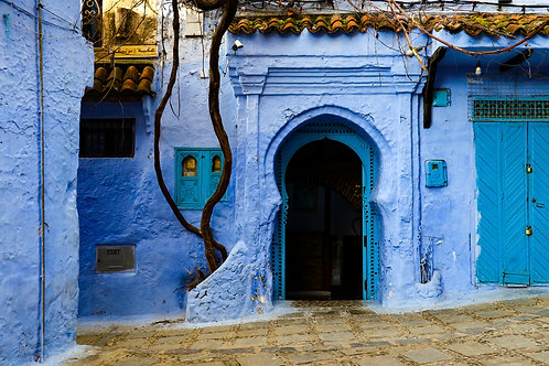 """8""""x 10"""" Pearl Photographic Print - Chefchaouen, Morocco"""