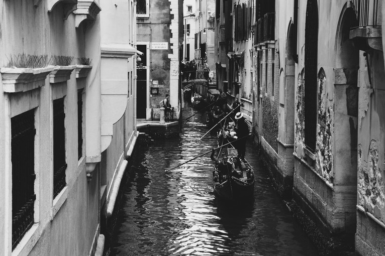 Venice, Italy. April 2019