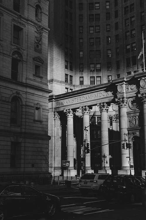 "8""x 10"" Pearl Photographic Print - Lower Manhattan"
