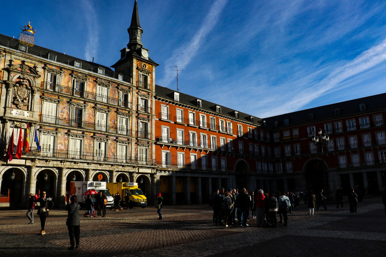 Plaza Mayor. Madrid, Spain.