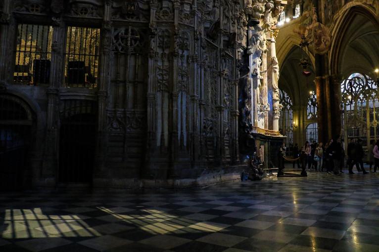 Catedral Primada Santa María de Toledo. Toledo, Spain.