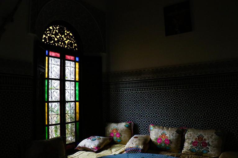 Riad Dar Golden. Fes, Morocco.