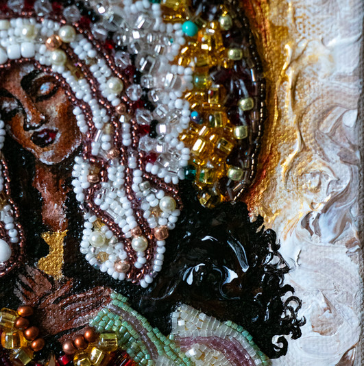 Black Madonna (detail)