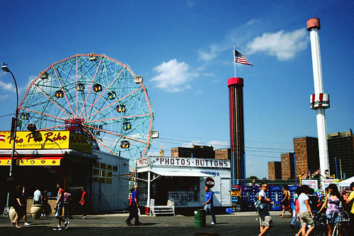 Photographic Print - Coney Island, Brooklyn, NYC
