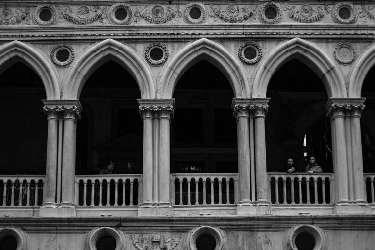 Palazzo Ducale, Venice, Italy. April 2019